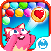 Download Bubble Mania Valentine's Day free for iPhone, iPod and iPad